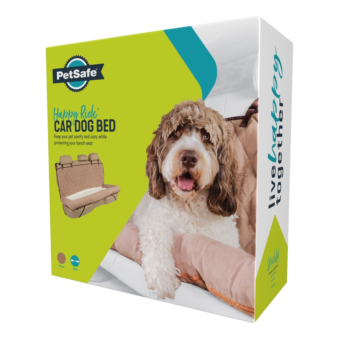 Happy Ride Car Dog Bed Bench Seat By Petsafe Grp Hrcdbbs In Car Dog Beds Seat Covers Pet Travel