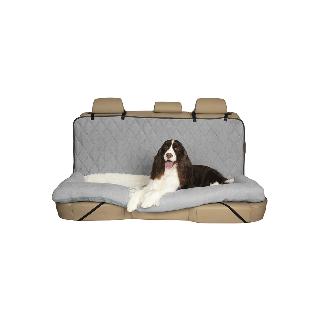 Peachy Happy Ride Car Dog Bed Bench Seat Dailytribune Chair Design For Home Dailytribuneorg