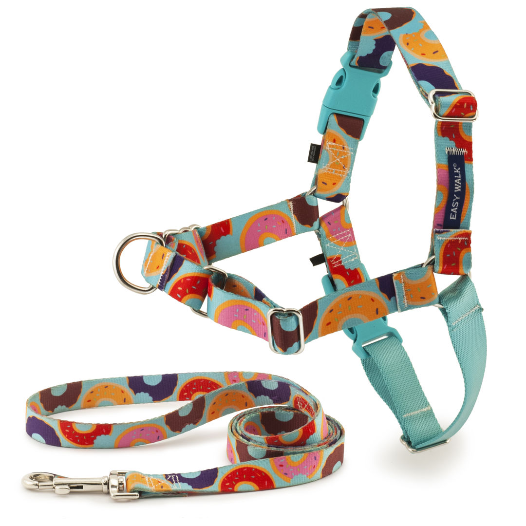 how to use easy walk harness
