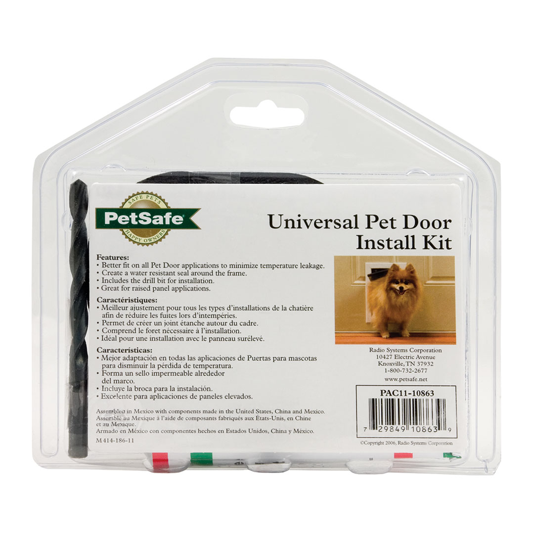 Shop For Pet Door Installation Kit By Petsafe Pac11 10863
