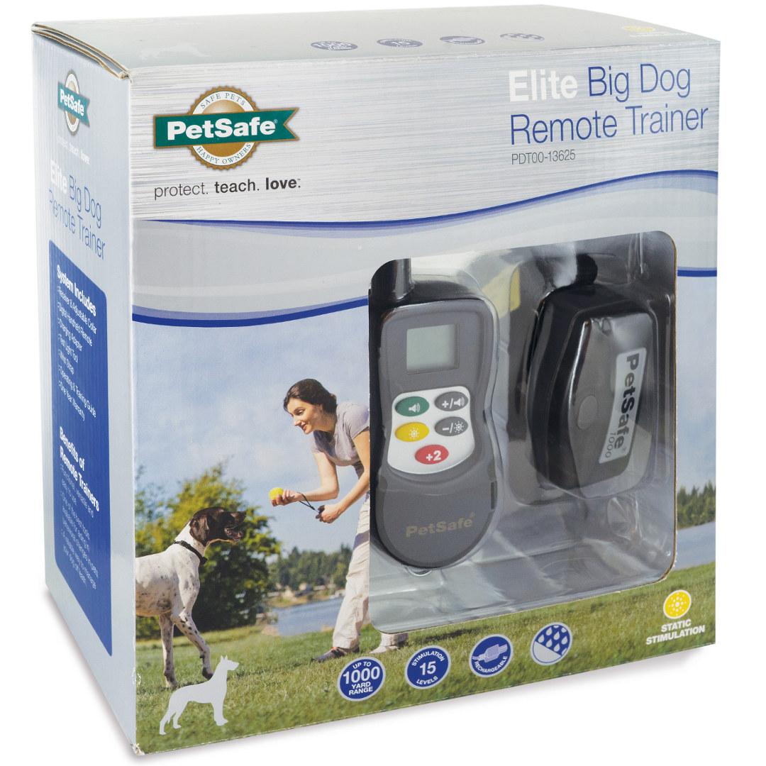 Elite Big Dog Static Remote Trainer By Petsafe Pdt00 13625