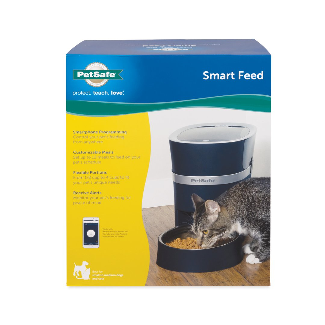 Smart Feed Automatic Pet Feeder for iPhone and Android by PetSafe ...