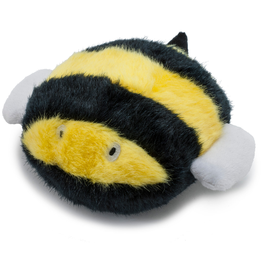 Busy Buddy® Pogo Plush® by PetSafe - GRP-PGPLUSH | Busy Bee Dog Toy