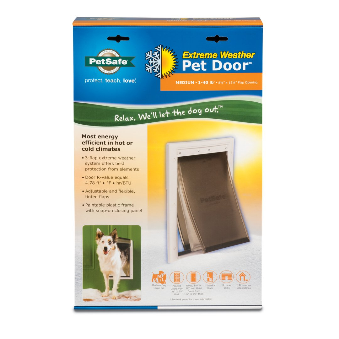 Extreme Weather Pet Doors By Petsafe Grp Extreme