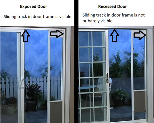 Shop For Patio Panel Kit For Recessed Door Frames By
