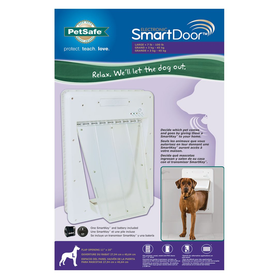 Electronic Smartdoor By Petsafe Grp Esd